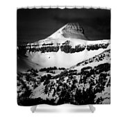 Fossil Mountain Shower Curtain