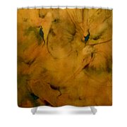 Fossils Shower Curtain