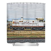 Foster Farms Locomotive Shower Curtain