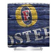Fosters Shower Curtain