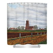 Fotheringhay Shower Curtain
