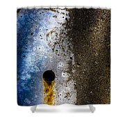 Foundation Number 132 Shower Curtain