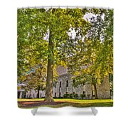 Founders Hall Portico Entrance Shower Curtain