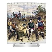 Founding Of St Shower Curtain