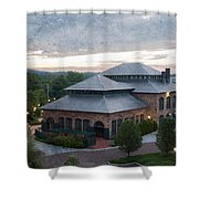Foundry Building In The Morning Shower Curtain