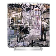 Foundry Workers Shower Curtain