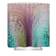 Fountain Art Shower Curtain