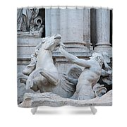 Fountain Di Trevi Shower Curtain