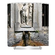 Fountain In A Palace Garden Shower Curtain