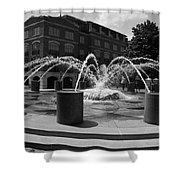 Fountain In Charleston Shower Curtain