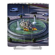Fountain Of Cebeles II Shower Curtain