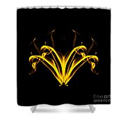 Fountain Of Gold Shower Curtain