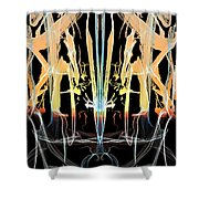 Fountain Of Happiness Shower Curtain