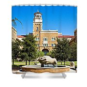 Fountain Of Knowledge Shower Curtain