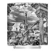Fountain Of The Gods Shower Curtain