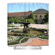 Fountain - Orangery - Belvedere Shower Curtain