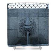 Fountain Seat Shower Curtain