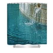 Fountain St Francisville Inn Louisiana Shower Curtain