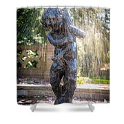 Fountain Shower Curtain