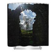 Fountains Abbey Shower Curtain