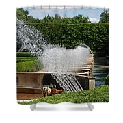 Fountains Shower Curtain