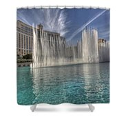 Fountains Of Paradise Shower Curtain