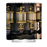 Four Degrees Of Separation Shower Curtain