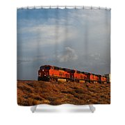 Four Engines Shower Curtain