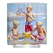 Four Five And Six Shower Curtain