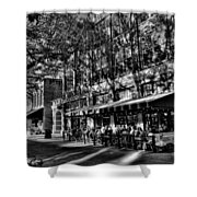 Four Market Square In Knoxville Shower Curtain