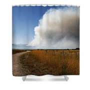Four Mile Canyon Fire Colorado Shower Curtain