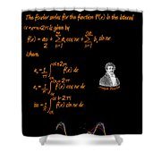 Fourier Series Shower Curtain