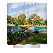 Fourteen Shower Curtain