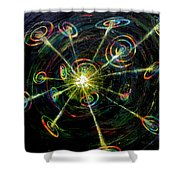 Fourth Day Of Creation Shower Curtain