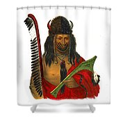 Fox Brave 1836 Shower Curtain