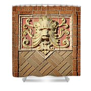 Fox Gargoyle 01 Shower Curtain