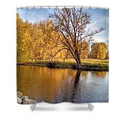 Fox River-jp2419 Shower Curtain