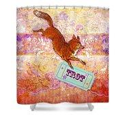 Foxtrot Shower Curtain