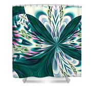 Fractal 011 Shower Curtain