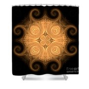 Fractal 013 - 1 Shower Curtain
