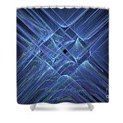 Fractal 063 Shower Curtain