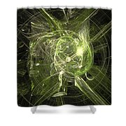 Fractal 068 Shower Curtain
