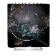 Fractal 073 Shower Curtain