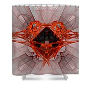 Fractal 080 Shower Curtain