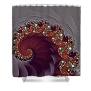 Bejeweled Tentacle Shower Curtain