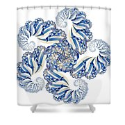 Fractal 1 Shower Curtain