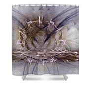 Fractal 107 Shower Curtain