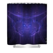 Fractal 111 Shower Curtain