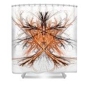 Fractal 112 Shower Curtain