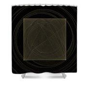 Fractal 21 Box Shower Curtain
